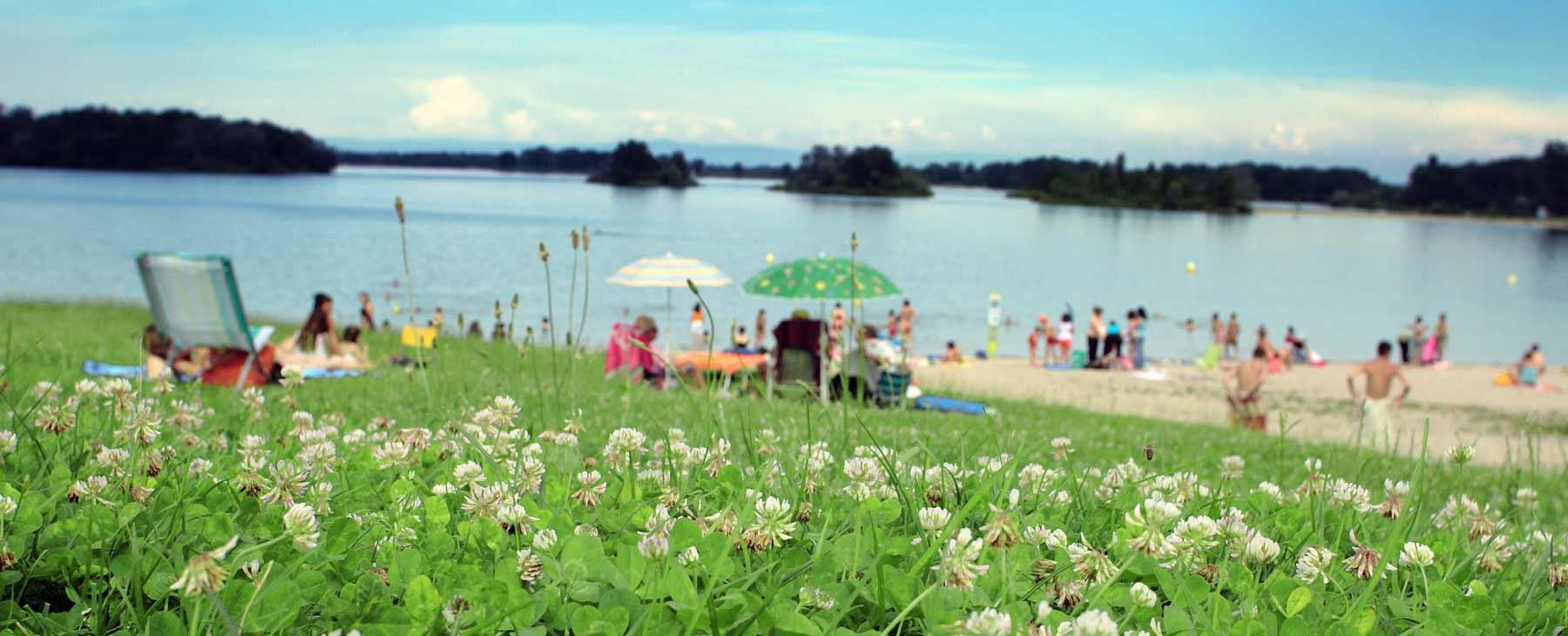 Baignades de l 39 t plans d 39 eau rhone rhone tourisme for Tarif piscine du rhone